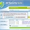 Beware of this Fake Antivirus Program AV Security Suite