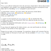 Chase Bank Account Verification Phishing Scam