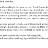 Citizen Bank Phishing Scam