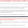 American Express Security Notification Phishing Scam
