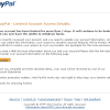 PayPal Account Limited Phishing Scam