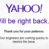 Yahoo Say's Goodbye!