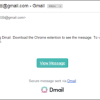 How D-Mail Works in respect of Gmail