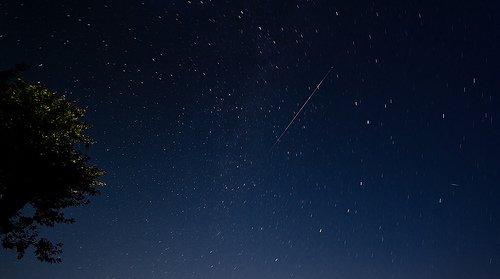 Perseid Meteor Shower August 12