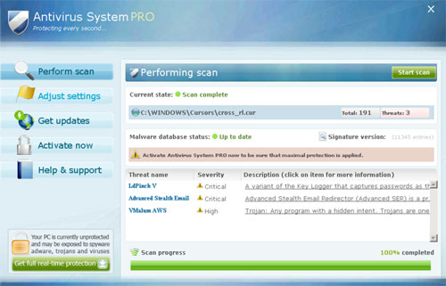 How to Remove Antivirus System Pro