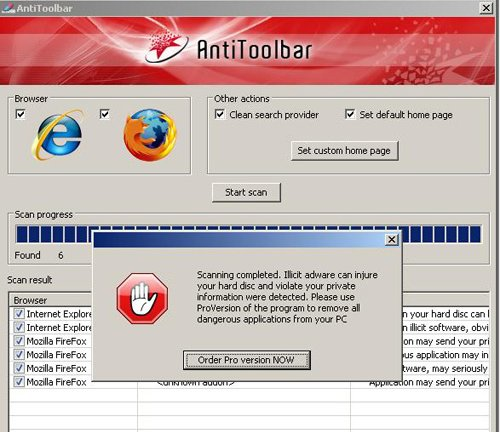 How to Remove AntiToolbar