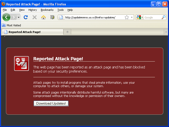 Security Tool Downloads Via Fake Firefox Block Page
