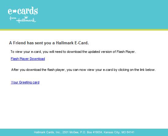 E-Card Scam