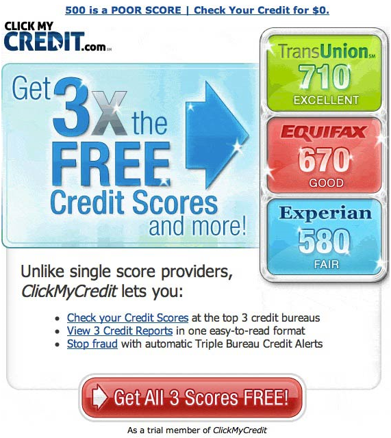 how to get free annual credit report from experian