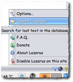 Lazarus Database to the Rescue
