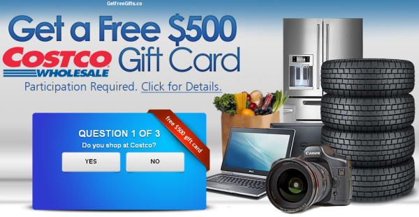 COSTCO Rewards Scam