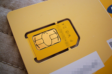 Using a local SIM card