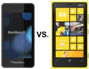 Windows 8 Vs Blackberry OS10