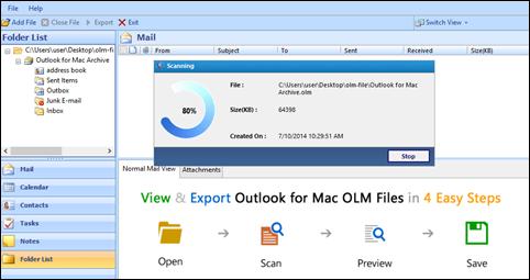 OLM file Scanning
