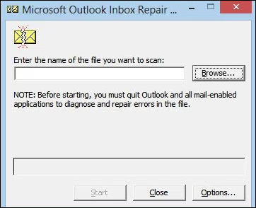 Inbox Repair Tool (SCANPST EXE) Keeps Finding Errors - Fixed