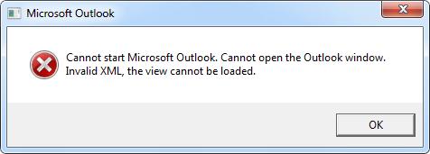 outlook wont open